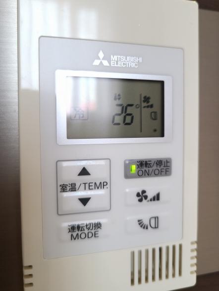 「冷房・暖房・ドライ・送風」が自由に選べます♪