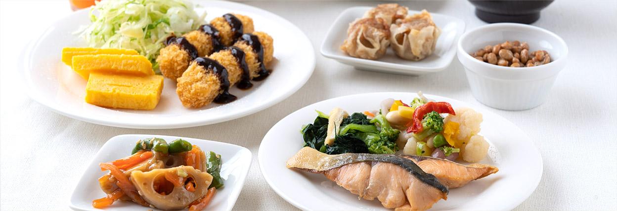 名古屋ガーランドホテルの朝食ビュッフェ